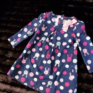 GYMBOREE TODDLER BUNNY DRESS